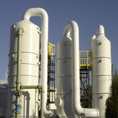 picture of industrial water treatment facility