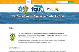 Watercontest.org Website